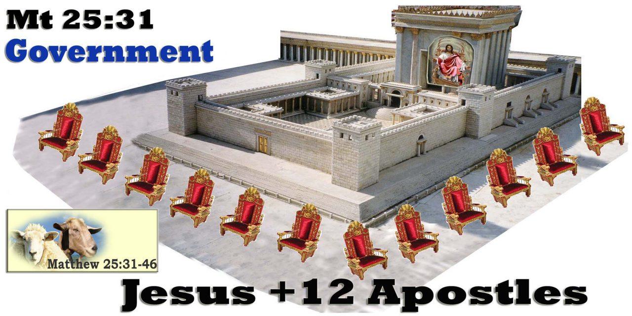 Millennium Jesus Throne